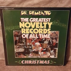 Vintage 1985 Dr. Demento Presents The Greatest Nov